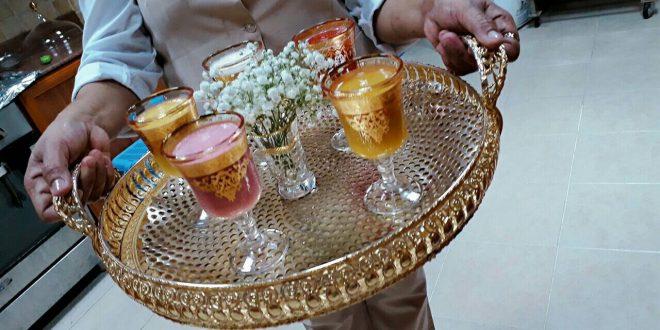 خدمة شاي وقهوه وعصير