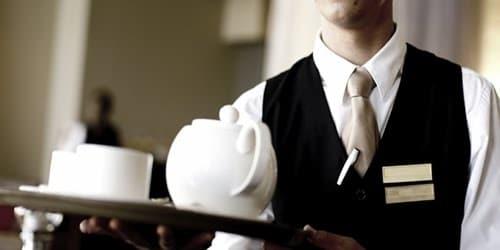 خدمة شاي وقهوه رجال